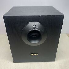 Aiwa TS-W45U Powered Subwoofer Active Speaker System 40W Tested FREE SHIPPING