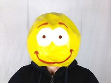 Smiley Face Emoji Mask Happy Rave Dancer Fancy Dance Music Festival Party