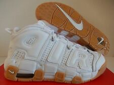 NIKE AIR MORE UPTEMPO (GS) WHITE-BAMBOO SZ 6.5Y-WOMENS SZ 8 [415082-101]