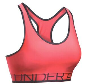 NWT Women's Under Armour Medium-Impact Light Pink Sports Bra S,L MSRP $34.99
