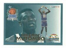 1992-93 Fleer All-Stars #19 Dikembe Mutombo (ref 94380)