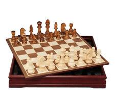 Nouveau Haute Qualité Motif Pièces d'échecs en bois table basse Professional Chess Board