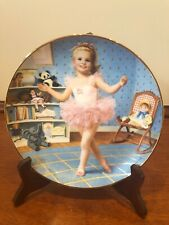 """Danbury Mint """"Tuesday's Child� Children of the Week By Elaine Gignilliat Plates"""
