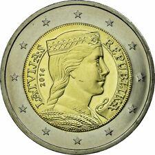 2 Euro munt LETLAND 2014 in UNC kwaliteit.