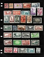 FRANCE: NICE COLONIES 'MOROCCO' STAMP COLLECTION   DISPLAYED ON 3 SHEETS.