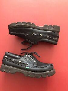 Kickers Lennon Shoes UK Size 9 Palace Style Navy Leather