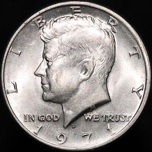 1971 D | U.S.A. Kennedy Half Dollar | Cupro-Nickel Clad Copper | KM Coins