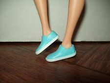 Barbie Doll  Blue & White Sneakers for Barbie & Friends Doll Clothing