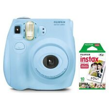 Brand New Fujifilm Instax Mini 9 Instant Film Camera Bundle- L Blue W Xtra Film