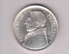 VATICANO 1978 ARGENTO Lire 1000 GIOVANNI PAOLO I  SILVER  PAPA LUCIANI FDC