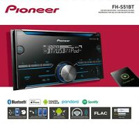 Pioneer FH-S51BT Double DIN CD Receiver with built-in Bluetooth™