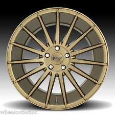 "20"" Niche M158 Form Wheels Tires Bronze Rims Fit Infinity G35 G37 Nissan 350Z"