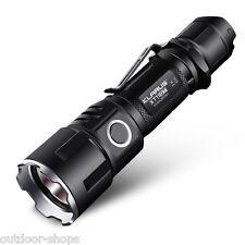KLARUS Tactical LED Flashlight  XT11GT 2000LM CREE XHP35 Torch + 3100mAh Battery