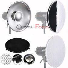 42cm Bowens Mount Radar Reflector Beauty Dish+Honeycomb Grid+Diffuser for Flash