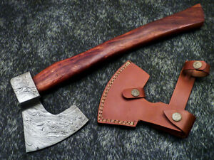"""New Beautiful Handmade Damascus Steel AXE """"UNIQUE AXE"""" Limited Edition WD-9395"""