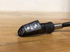Rizoma LEGGERA L LED Run/Turn Signals - FR121B Black Pair Cafe Racer