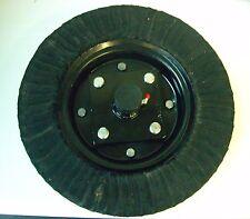 """Tail Wheel & Hub Assembly Bush Hog 15"""" Wheel 4 Bolt Hub 1"""" Shaft Rotary Cutter"""