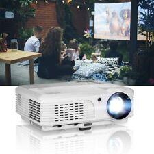 EUG WXGA LCD 1080P Projector Home Theater, 4400 Lumen LED X660S+ Inside/Outside