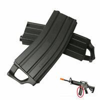 Schwarzes Magazin für Jinming Gen9 M4A1 Gelkugel Blaster Water Bullet Toy Nylon