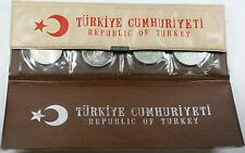 1960-1972 Republic of Turkey Silver 4 Coin 25 and 50 Lira Proof Set