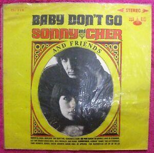 SONNY & CHER & FRIENDS- LP Record- Asian Bootleg 1960's PLEASE DON'T GO- Rare !