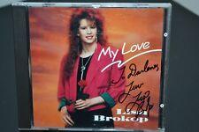 Lisa Brokop My Love CD Rare Debut 1991 Libre Music oop Indie Signed Autographed