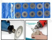 12PCS DIAMOND COATED CUTTING WHEEL WITH MANDREL SET 25MM (DCW3X25)