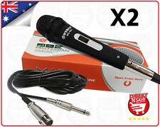 2X Dynamic Microphone Hi-fidelity Unidirectional Mic Precision Audio WG988