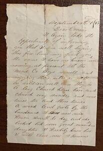 27th Kentucky Infantry September 4, 1863 Micajah Bennett Civil War Letter