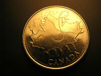 Canada 2002 Canada Day 25 Cent  Mint Coin.