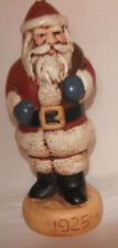 Santa Claus Christmas holiday figure collectible 1925 (style) on base