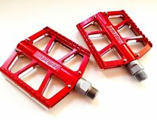 Imperial Pedali / Pedals Flat red / silver