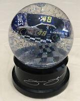 2005 NASCAR #48 Jimmie Johnson Winners Circle Snow Globe
