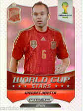 2014 World Cup Prizm Refractors World Cup Stars No.30 A.Iniesta (SPAIN)