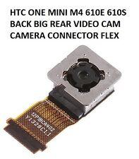 HTC UNA MINI M4 610E 610S TRASERO GRANDE VIDEOCÁMARA CÁMARA FLEXIBLE CONECTOR