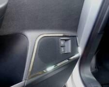 D VW Passat 3C Chrom Lautsprecherrahmen vorne Edelstahl poliert 4 Teile