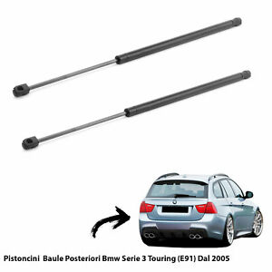 2  MOLLE A GAS PISTONI PISTONCINI PORTELONE BAGAGLI BMW SERIE 3 TOURING (E91) 05