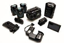 Black Magic Ursa Mini Pro 4.6k - EF Mount - PRO SHOOTER KIT - 3200 ISO