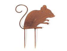 Beetstecker Maus Dekoration Ratte 23761 Figur Beet Terrasse Dekoration Garten