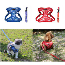 Dog Harness Small adjustable vest mesh cats harness for puppy small medium dogs