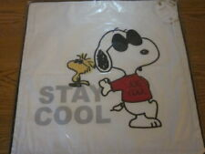 Pottery Barn Teen 2017 Peanuts Snoopy & Woodstock Stay Cool Pillow Cover - NWT