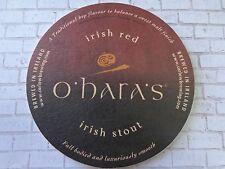 BEER Bar COASTER: Carlow Brewing O'HARA'S Irish Stout ~ Falling Rock, Denver, CO