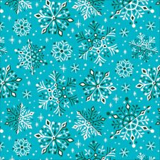 Organic Cotton Fabric   Wonderland From Tinsel By Clairice Gifford Cloud9 Snow