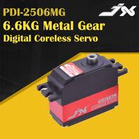 JX PDI-2506MG 6.6KG Metal Gear Digital Coreless Servo For WLtoys 12428 RC Car