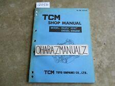 Isuzu TCM Forklift 4FA1 Diesel Engine Shop Service Manual