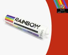 Sellador de silicona de color rojo fuego Arco Iris 310 ml RAL 3000 Interior & Uso Al Aire Libre
