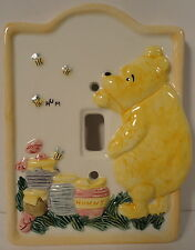 Classic Winnie the Pooh Bees Honey Disney Ceramic Charpente Light Wall Swith