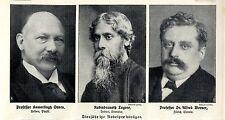 Nobelpreisträger Rabindranath Tagore Indien Kamerlingh Onnes... Memorabile 1913