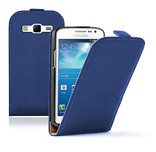 Ultra Slim BLUE Leather case cover pouch for Samsung Galaxy Express 2 SM-G3815