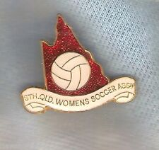 #D109. South Queensland Women'S Soccer Association Lapel Badge